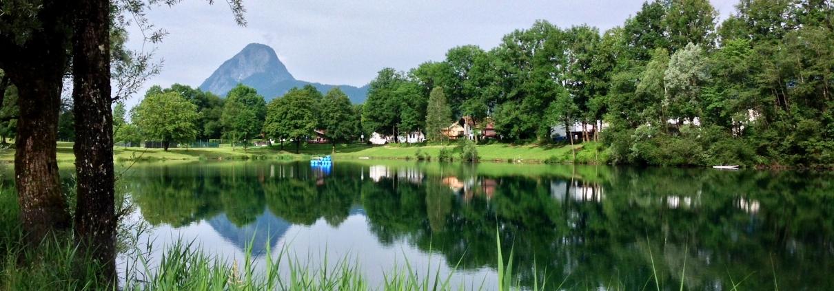 Der Kieferer See in Bayern