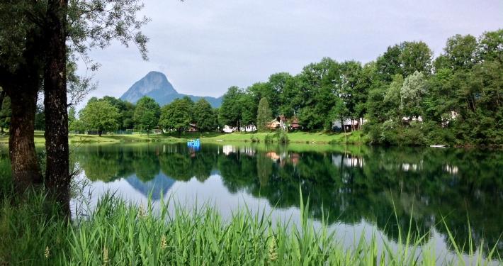 Baden im Kieferer See