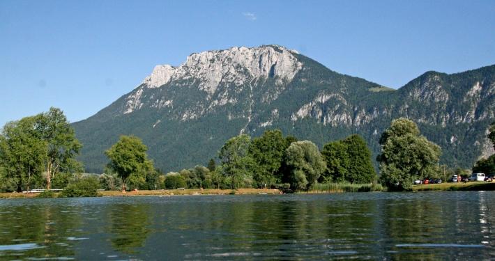 Baden im Kreuthsee, ein See in Bayern