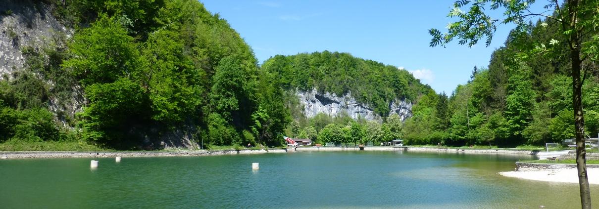 Badeseen Seen Oberaudorf | Oberbayern Bayerisches Alpenvorland