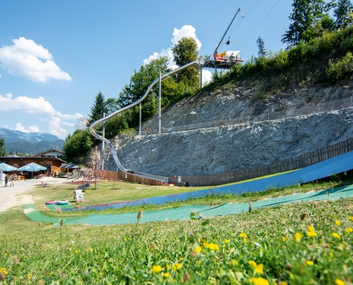 Free Fall Trockenrutsche Oberaudorf | Oberbayern Bayerisches Alpenvorland