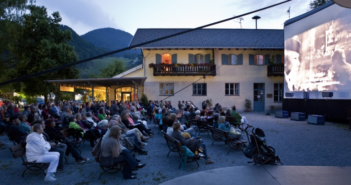 Open Air Kino in Oberaudorf