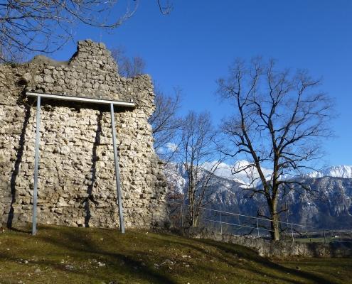 Ruine Auerburg Oberaudorf | Oberbayern Bayerisches Alpenvorland