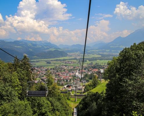 Sessellift in Oberaudorf