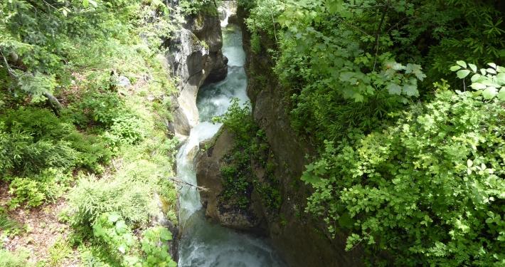 Wasserfälle in Oberaudorf