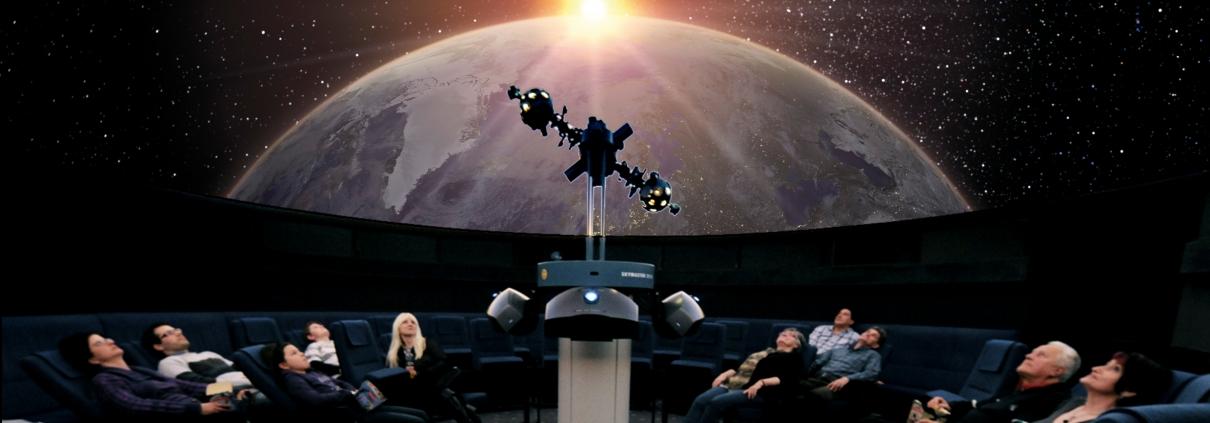 Sterne entdecken im Planetarium