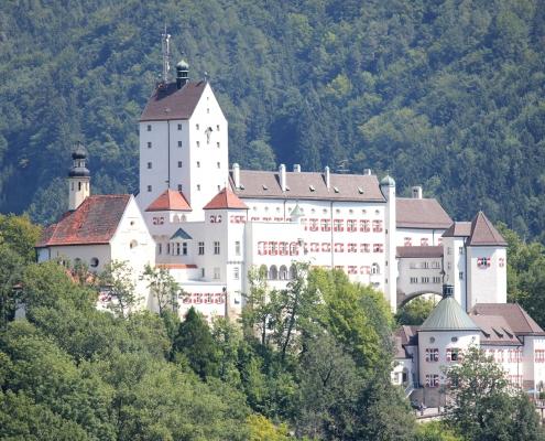 Das Schloss in Aschau