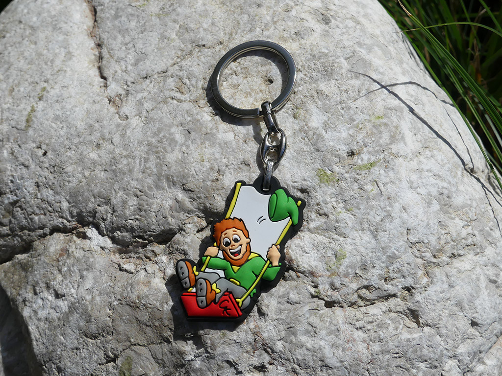 Souvenir Schlüsselanhänger Softzwerg