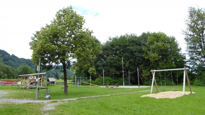 Spielgeräte am Kurpark Oberaudorf