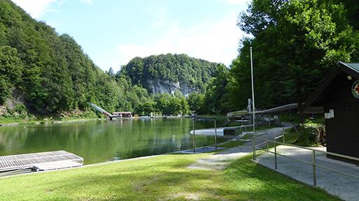 Spielgeräte am Luegsteinsee Oberaudorf