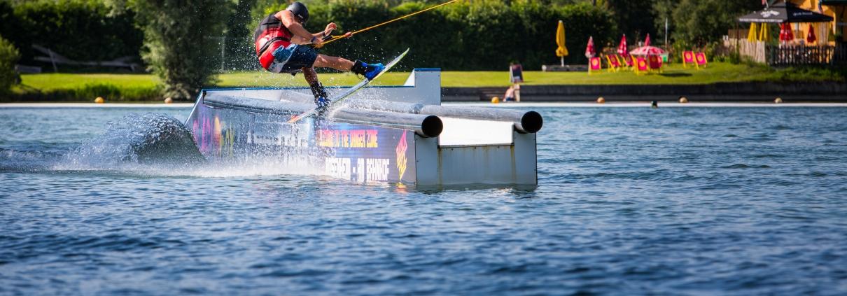 Wasserskifahren in Kiefersfelden