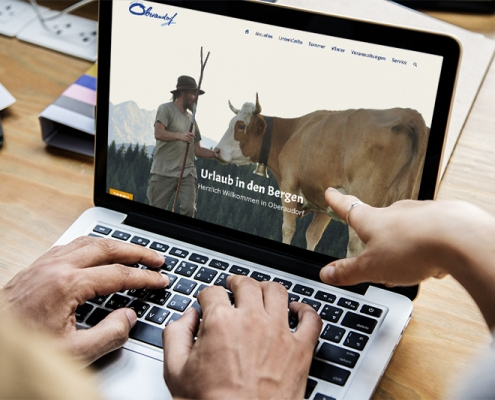 Webseitenrelaunch Tourismus Oberaudorf
