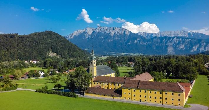 Klosteranlage in Niederaudorf