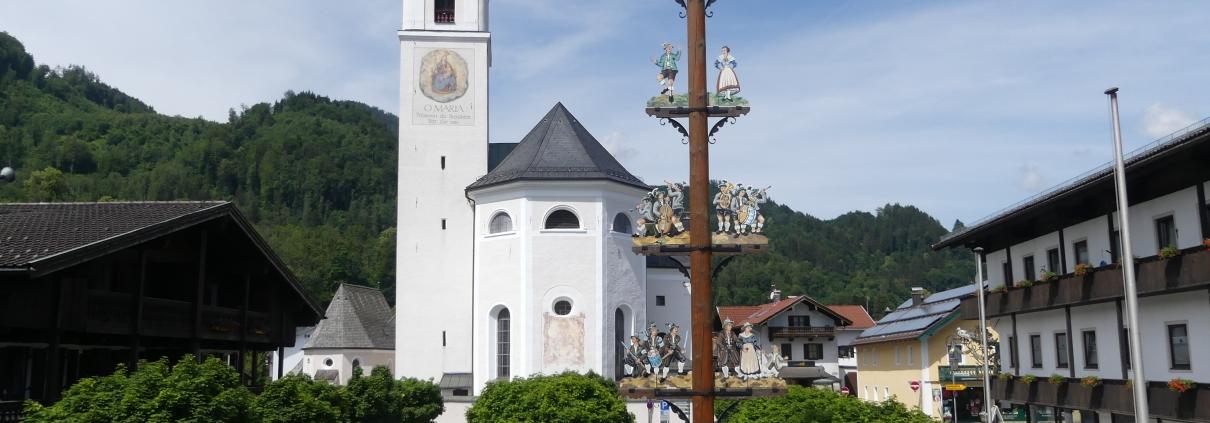 Führung Barockkirchen Oberaudorf   Oberbayern Bayerisches Alpenvorland