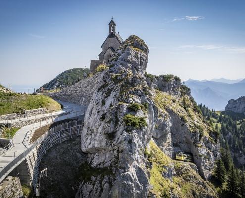 Ausflugsziel Bayern: Wendelstein Zahnradbahn