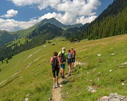 Geführte Wanderung in Oberaudorf