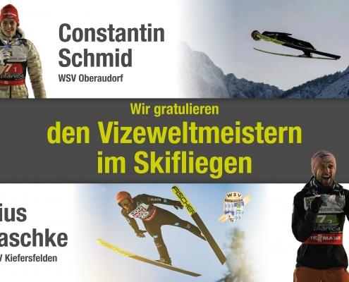 Vizeweltmeister im Skifliegen