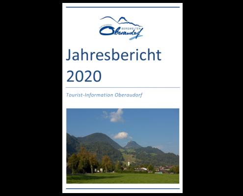 Titelbild Jahresbericht 2020