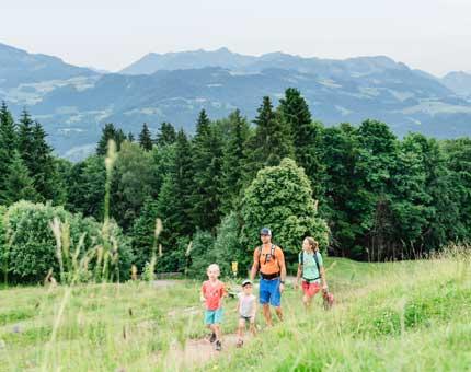 Familienwandern in Oberaudorf